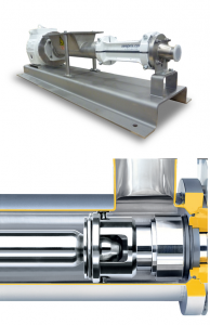 SEEPEX extends barrel-shaped pin joint for all CS – range pumps – Tencarva Machinery Company