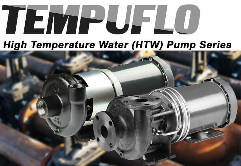Tempuflo High Temperature Water Pump