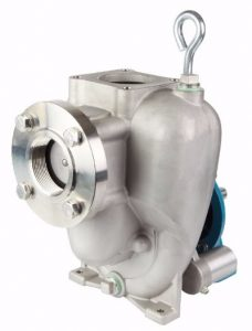 Self Priming Stainless Steel Double Seal Pump for Corrosive Applications