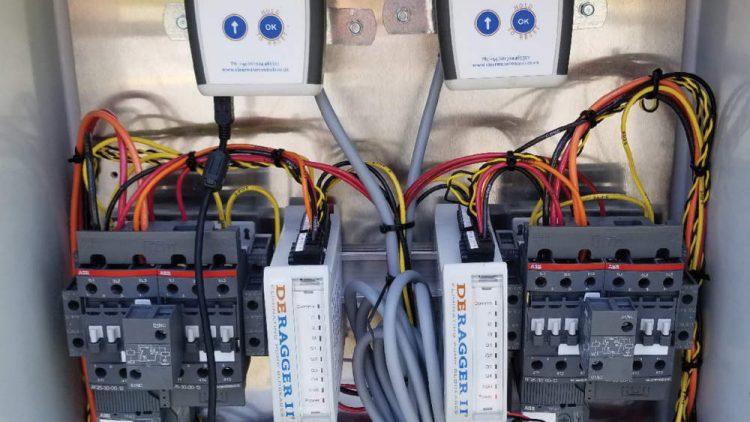 DERAGGER Motor Control Cabinet