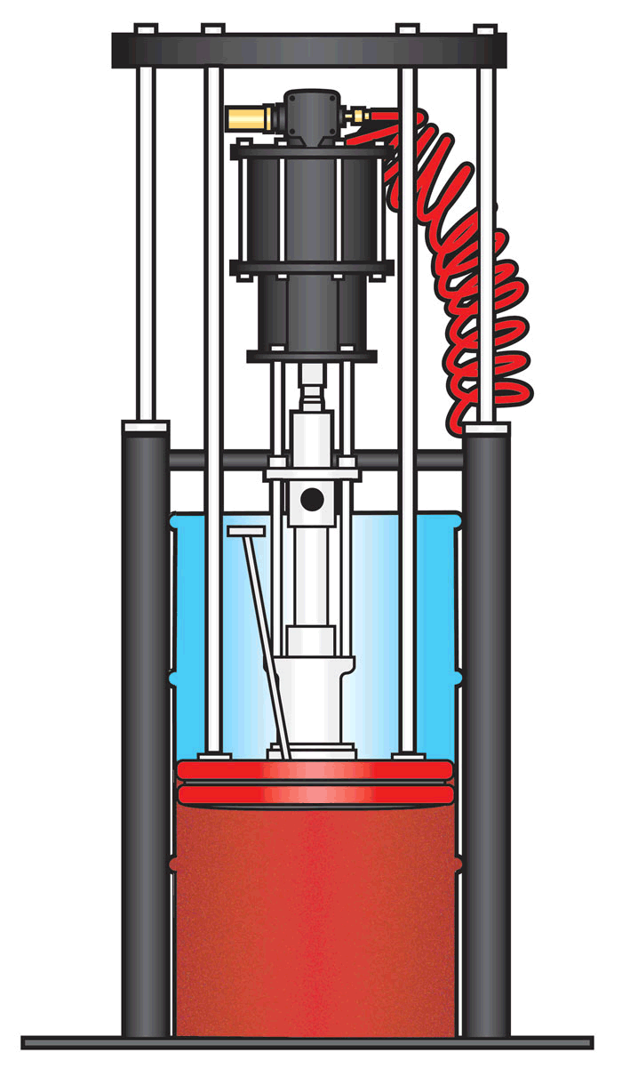 Extend life of piston pump