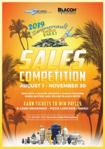 Blacoh Summersault Into Fall Sales Competition