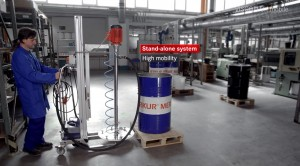 ▶ VISCOFLUX mobile – Drum Emptying Systems