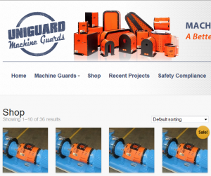 Uniguard Machine Guards web store is in full swing » Tencarva Machinery Company
