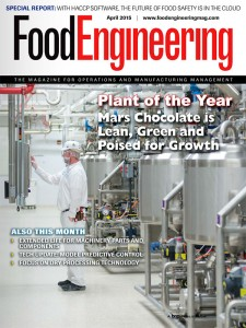 Mouvex® Pumps Featured on the Cover of Food Engineering Magazine