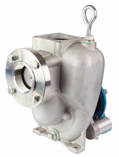 Flomax Self Priming Stainless Steel Double Seal Pump