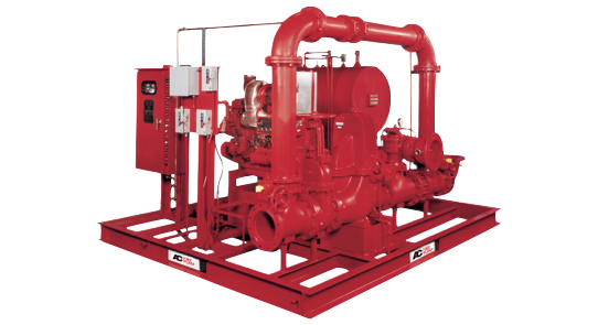 AC Fire Pump Skid