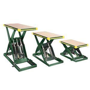 Southworth Backsaver Hydraulic Lift Tables