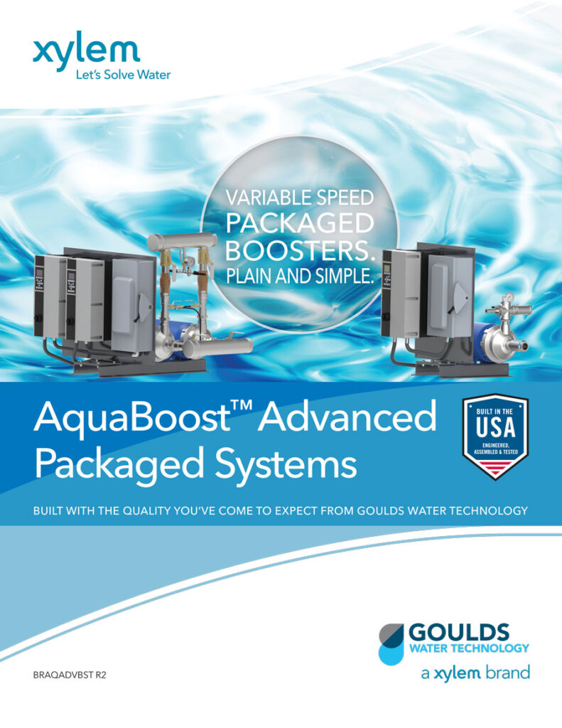 Aquaboost Packaged Booster System