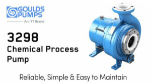 Goulds 3298 Chemical Process Pump Upgrades and Discount Promotion