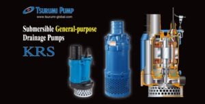 Cast Iron Pumps for Mining, Aggregate and Construction – KRS Series by Tsurumi Pump